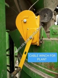 CABLE WINCH FOR CONCRETE PLANT