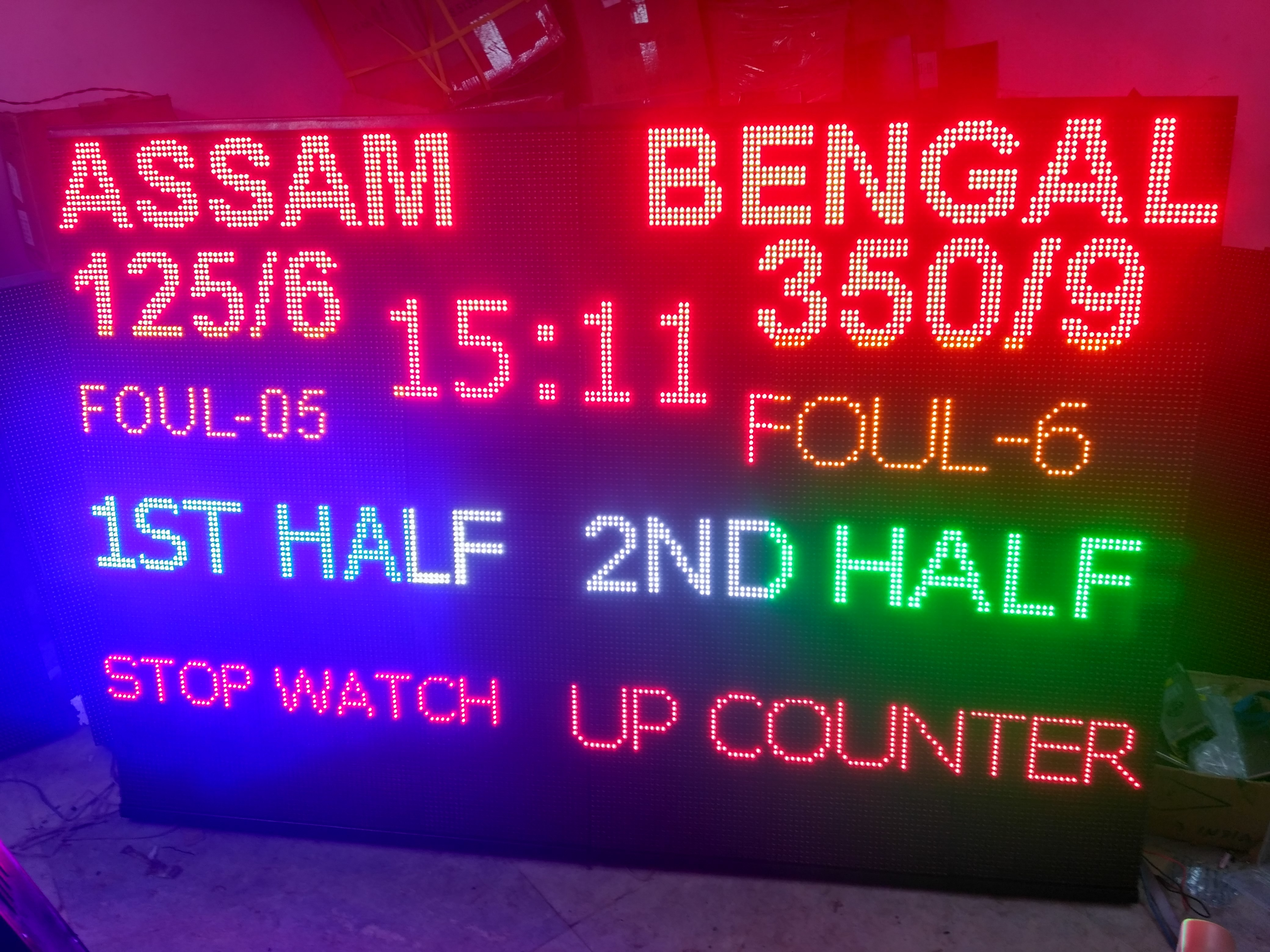 Electronic Scrolling Message LED Signs