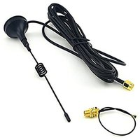 Antenna Cable 433MHz 3dBi Magnetic Base With SMA Plug Connector + SMA Female To IPEX Connector Cable