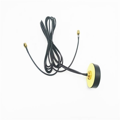 High Gain 4G LTE Antenna GPS Dual Band Navigation Combined Aerial With SMA Male Connector 1M