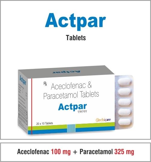 Aceclofenac + Paracetamol