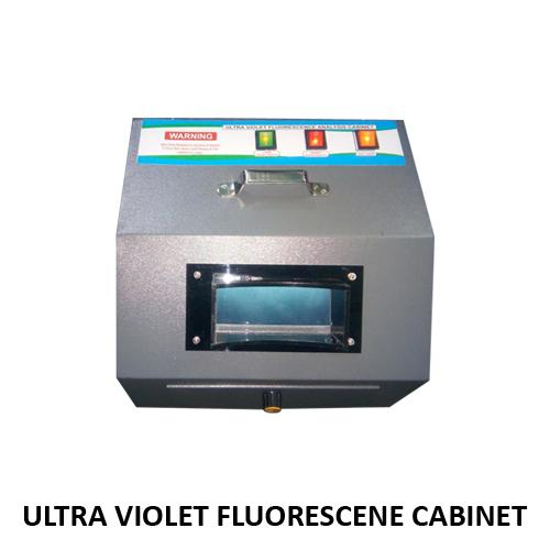 Ultra Violet Fluorescence Cabinet
