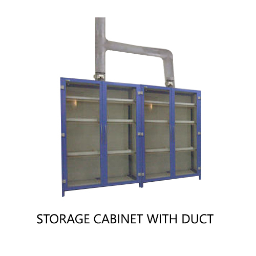 Storage Cabinet With Duct