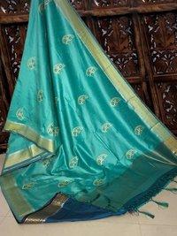 Surat Heavy Embroidery Sarees