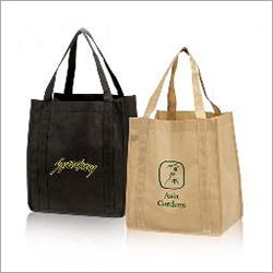 Printed Jute Carry Bag