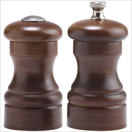 Pepper Mill Grinder Wooden Premium 4