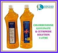 CHLORHEXIDINE GLUCONATE & CETRIMIDE SOLUTION 1 LITRE