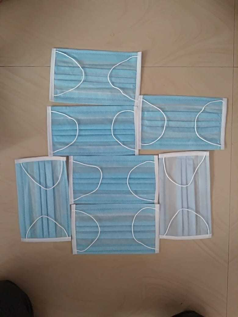 Disposable 3 ply medical mask