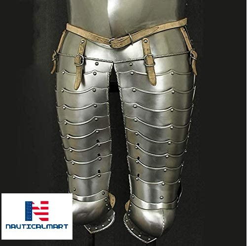NauticalMart Medieval Knight Cuirassier Half Armour 17th Century Functional Metal Plate Armour Suit Breastplate