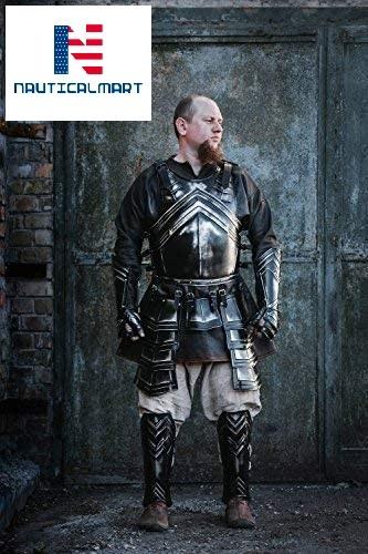 NauticalMart Halloween Medieval Knight Half Suit of Armor Made of 18 Gauge Steel