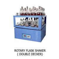Rotary Flask Shaker Double Decker