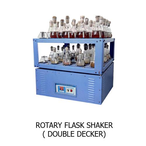 Rotary Flask Shaker Double Decker