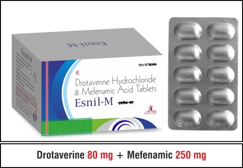 Drotaverine 80mg + Paraceamol 325mg