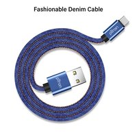 pTron Indigo 2.1A Type-C USB Cable for Charging & Data Sync - (Blue)