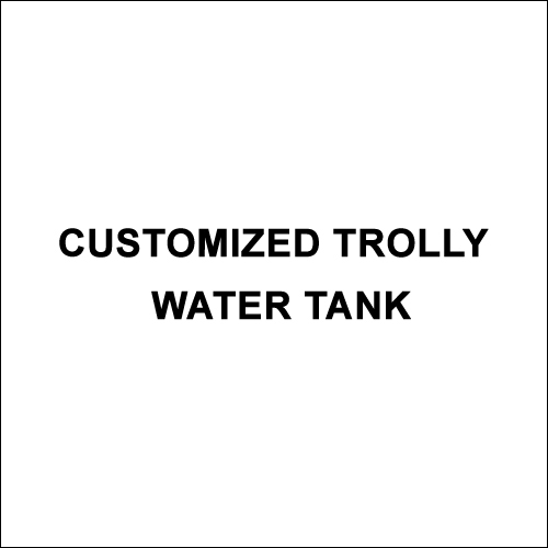 Customized Trolly Water Tank
