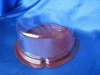 Benzon Round Plastic Container