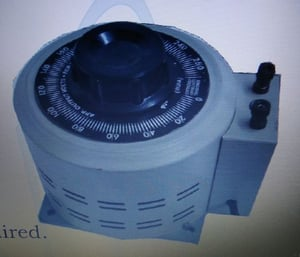 1- Phase Variable Auto Transformer