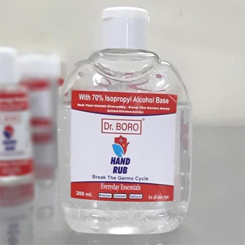 200 ml Alcohol Hansed Hand Sanitizer