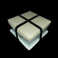 Cream Crystal Box