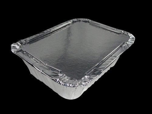 250 ML Rectangular Aluminium Food Containers
