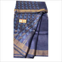 Ladies Linen Silk Sarees