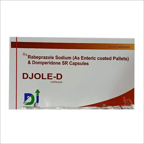 Djole D Rebeprazole Sodium And Domperidone SR Capsules