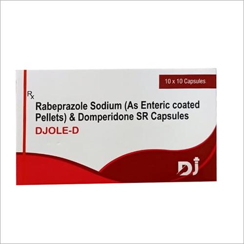 Rebeprazole Sodium And Domperidone SR Capsules