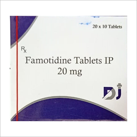 20 MG Famotidine Tablets IP