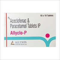Aceclofenac And Paracetamol Tablets IP