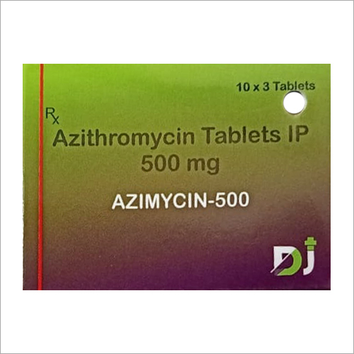500 MG Azithromycin Tablets
