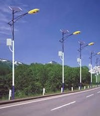 solar street light with pole price