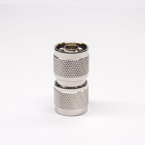Type N Adapter Straight Male To Male Nickel Plating