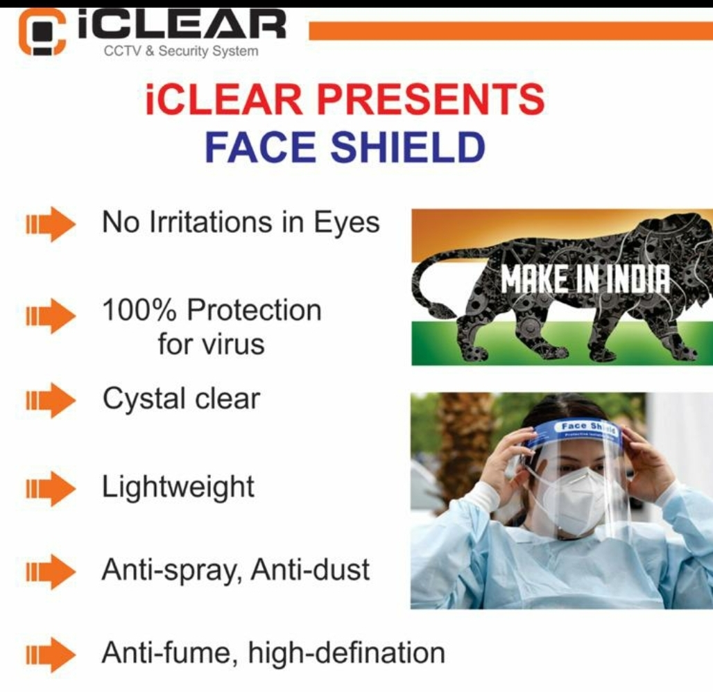 iCLEAR Medical Face Shield