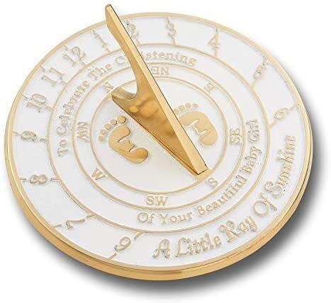 NAUTICALMART Creative Sundial A Special Baby Gift