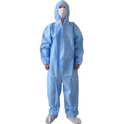 Protective Safety Pp Disposable Hospital Coverall Age Group: Suitable For All Ages