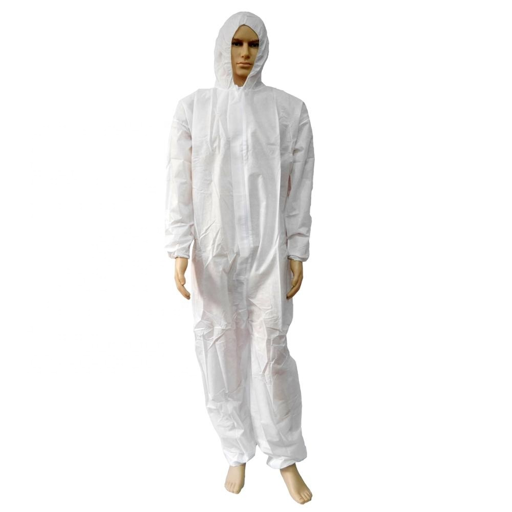 Medical Usage Disposable PP Coverall Manufacturer
