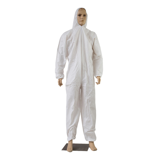 Disposable Hospital Coverall Microporous Safety Clothing Suit
