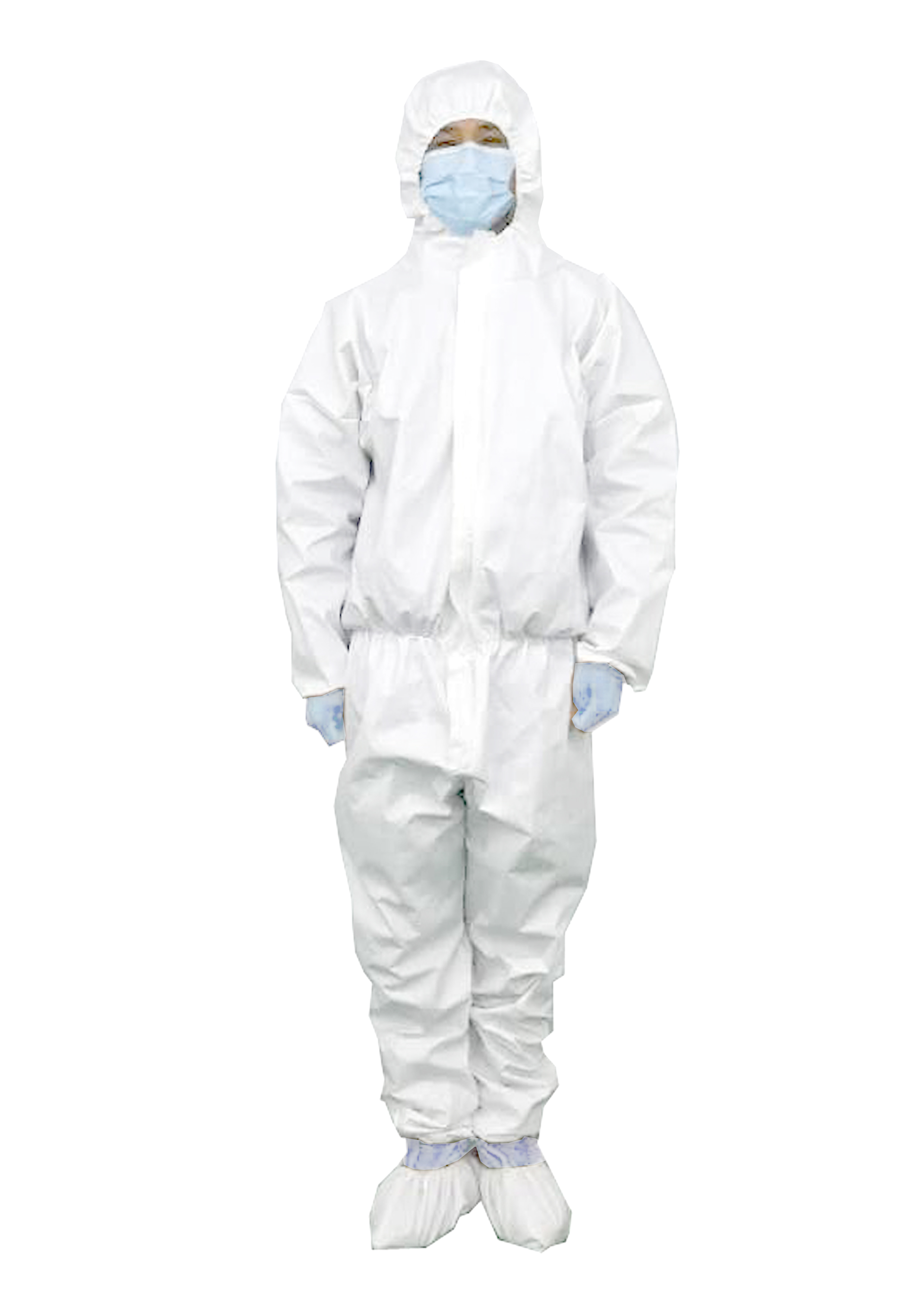 PP/PE Waterproof Liquid Resistance Antibacterial Non-woven Fabric Microporous Safety Protective Apparel Medical Coverall