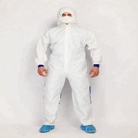 Disposable Protective TYPE 5 6 Coveralls with Taped