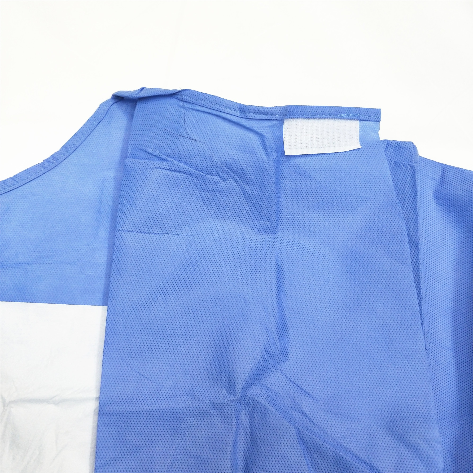 Medical Use Non Woven SMS Tie Back Disposable Surgical Gown for Hospital