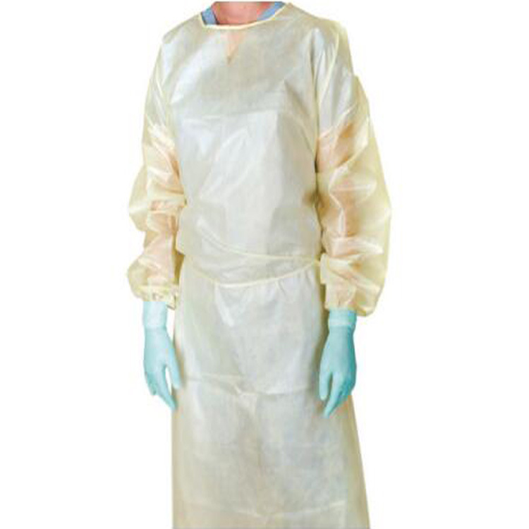 Custom Breathable Antibacterial Fluid-Resistant Disposable Surgical Gowns