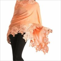 Pashmina Diamond Rose Design Stole , Size-90x210cm