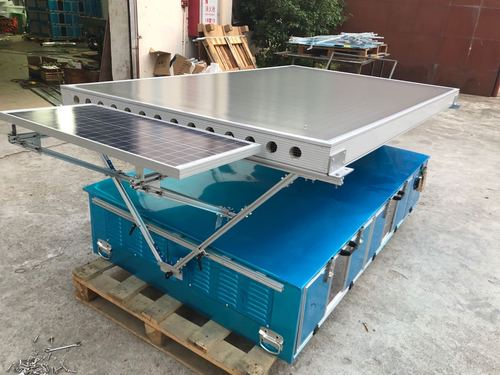Adjustable solar air collector solar dryer