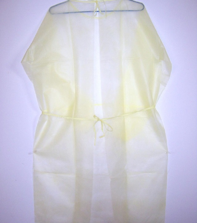 Disposable Nonwoven Surgical Isolation Gown