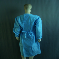 Surgical Gown Isolement Blouse Chirurgicale Disposable Patient Medical Doctor Gown Sterile