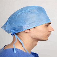 Disposable Non woven Bouffant Cap For Hospital