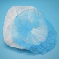 Hampool Breathable Protective Non Woven Bouffant Disposable Cap