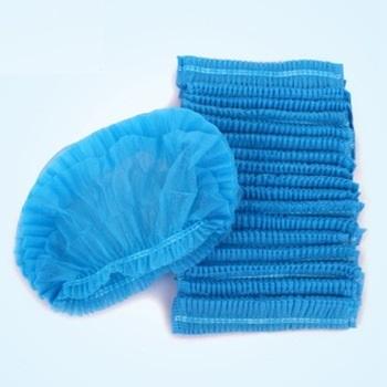 Medical Bouffant Non-Woven Elastic Disposable Cheap Surgical Caps