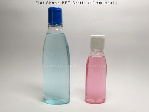 Flat Shape PET Bottle