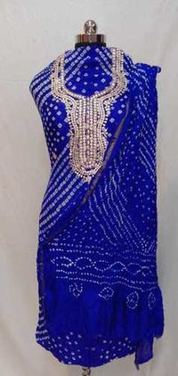 Jaipuri Bandhej Suit